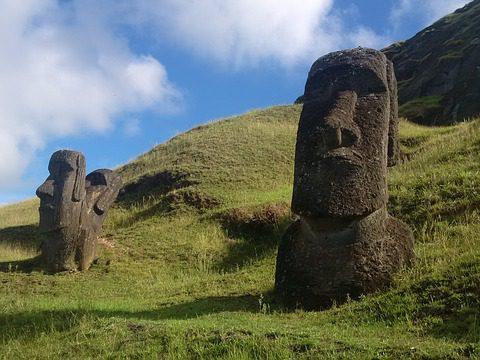 פסלים מואי