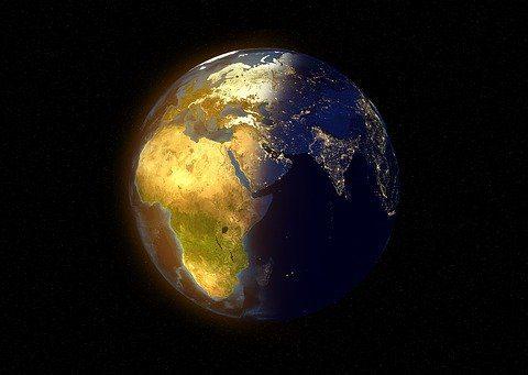 צילום כדור הארץ בלילה
